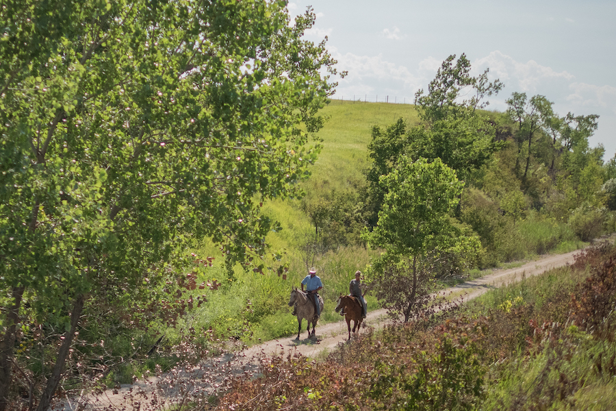 Flint Hills Trail State Park | Photo courtesy Kansas Tourism