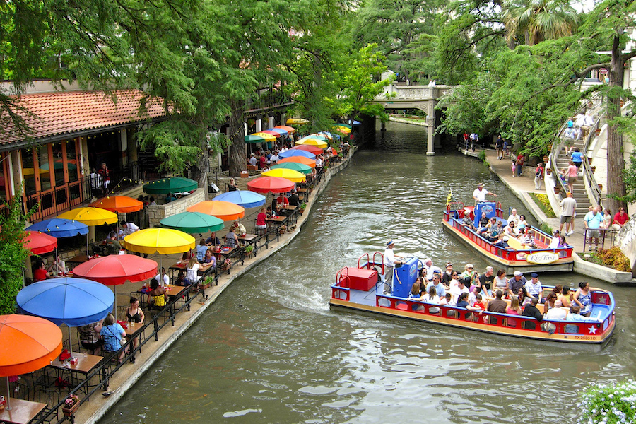San Antonio River Walk in Texas | Photo courtesy Dawn Pennington