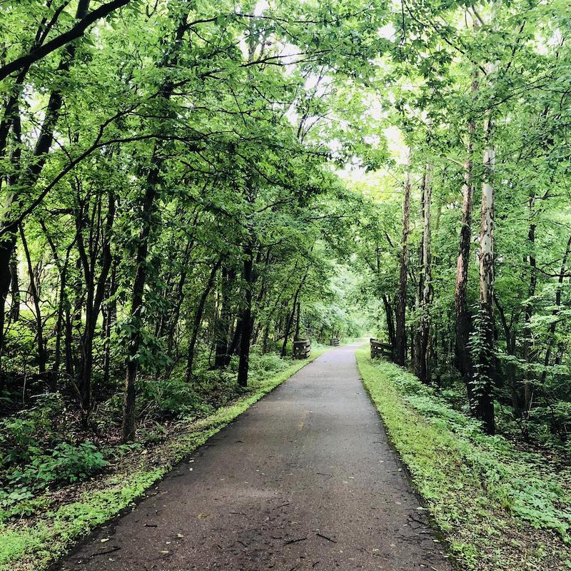 Little Miami Scenic Trail in Ohio | Photo by TrailLink user kenhaft
