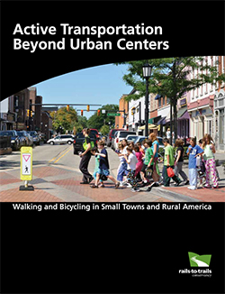 Active Transprotation Beyond Urban Centers