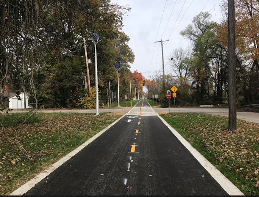Hi-Rail Greenway in Evansville, Indiana | Photo by Lorie A. Van Hook, courtesy Evansville Trails Coalition