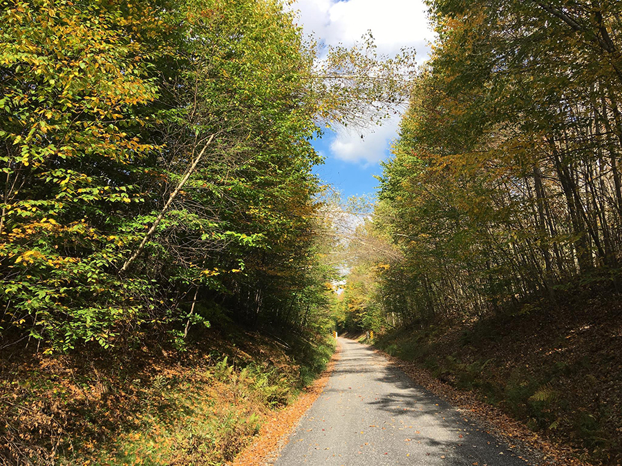 Knox Kane Rail Trail in McKean County, Pennsylvania | Photo courtesy MJ2KB Trail Club