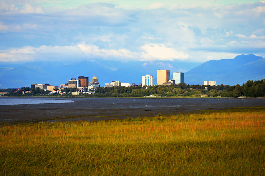 View of Anchorage from Tony Knowles Coastal Trail | Photo courtesy Luv Duck Photography