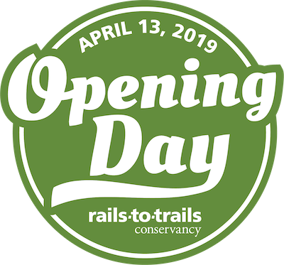 RTC Opening Day for Trails 2019 badge logo