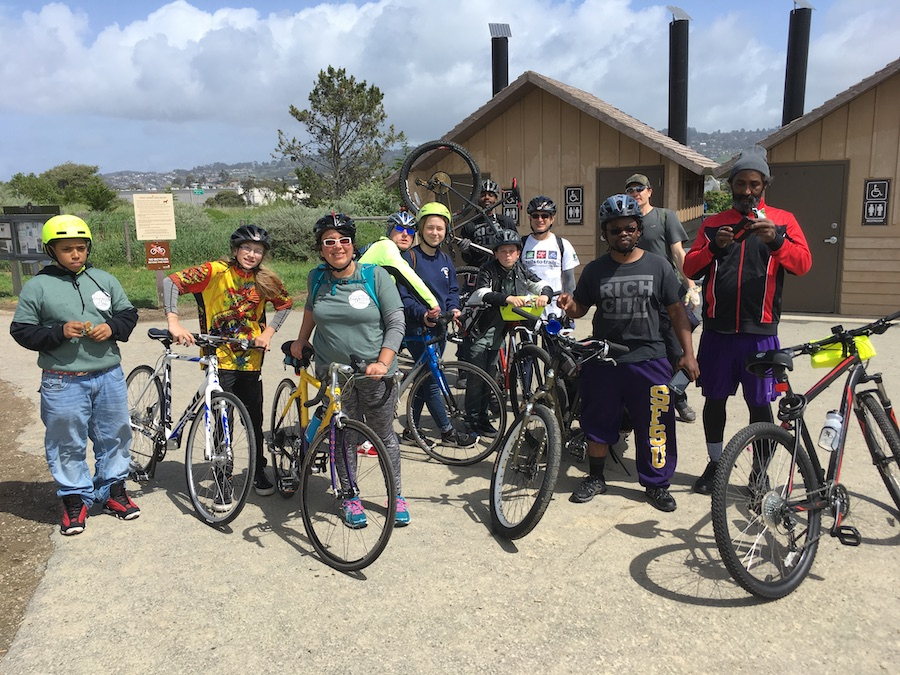 Opening Day for Trails ride in Richmond, CA | Photo courtesy RTC