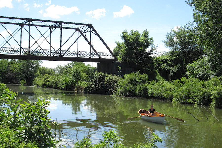 Canoeing, Hennepin Canal Parkway State Park, Annawan, Illinois |Photo courtesy of Friends of the Hennepin Canal