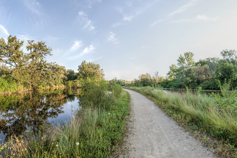 Hennepin Canal and Parkway | Photo courtesy of Thomas Photographic Services, Trails for Illinois