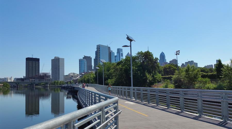 Pennsylvania's Schuylkill River Trail| Photo by TrailLink user rcpat