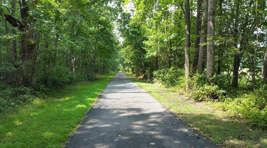 New Jersey's Monroe Township Bikeway | Photo by TrailLink user rcpat