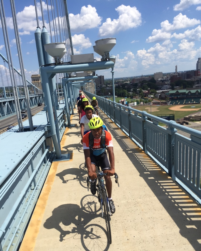 Ben Franklin Bridge, part of the Circuit Trails network | Photo by Kyle McIntyre