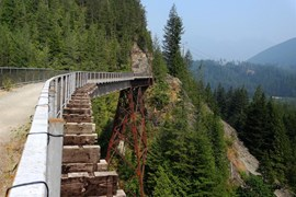 Palouse to Cascades State Park Trail in Washington | Photo by Gary Toriello