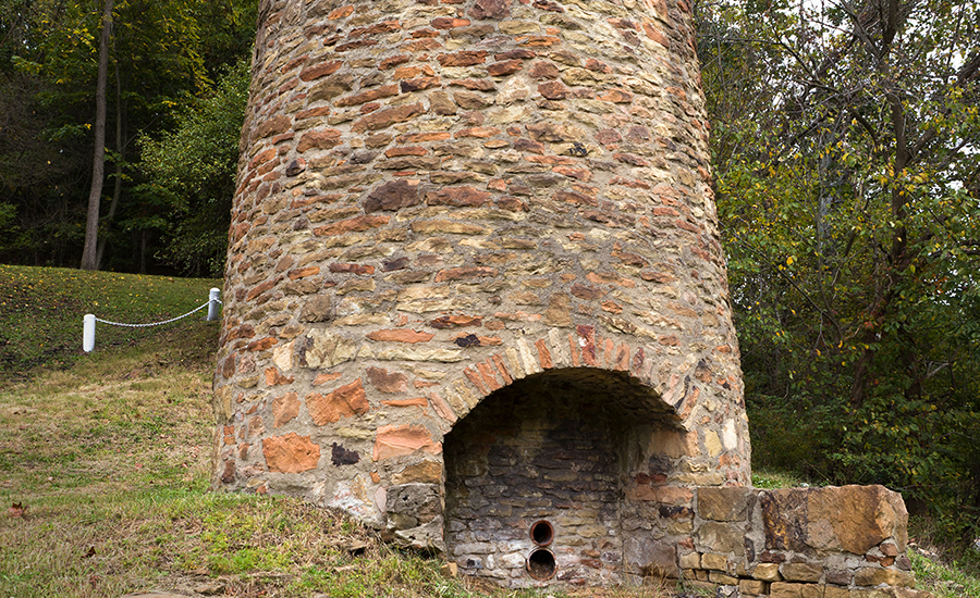 Peter Tarr Furnace Site near the Panhandle Trail in West Virginia | Photo courtesy Generic1139 | CC BY-SA 3.0