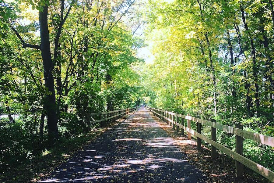 Chester Valley Trail | Photo by TrailLink user alyssa marie