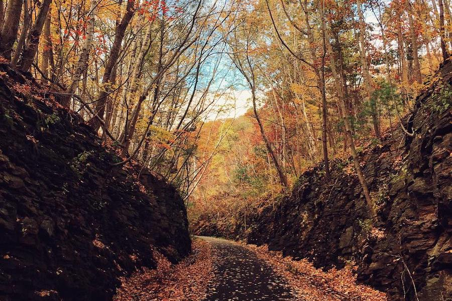 Hop River State Trail | Photo by TrailLink user angelaj1582