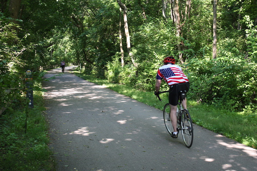 Schuylkill River Trail through Valley Forge National Historical Park | Photo courtesy Montgomery County Planning Commission | CC by SA 2.0
