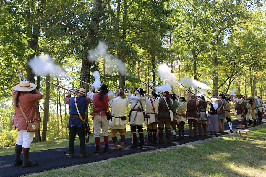 The 235th Anniversary Ceremony of the 1780 Battle of Kings Mountain | Photo courtesy Campaign1776 | CC by 2.0