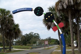 Florida's Fred Marquis Pinellas Trail - Photo by Martha Wicker