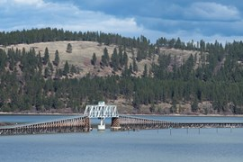 Idaho's  Trail of the Coeur d'Alenes - Photo by Lisa James