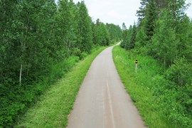 Minnesota's Paul Bunyan State Trail - Photo courtesy Minnesota Department of Natural Resources