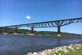 New York's Hudson Valley Rail Trail - Photo by Ryan Cree
