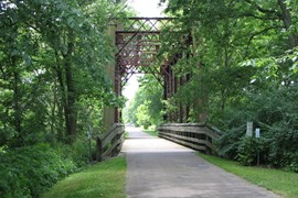Ohio's Little Miami Scenic Trail - Photo by Abigail Holloran, courtesy Greene County Parks and Trails