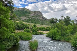 Utah's Provo River Parkway - Photo by Cindy Barks