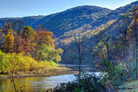 West Virginia's Greenbrier River Trail - Photo by Paul G. Ericson