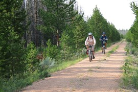Wyoming's Medicine Bow Rail Trail  - Photo by Amber Travsky