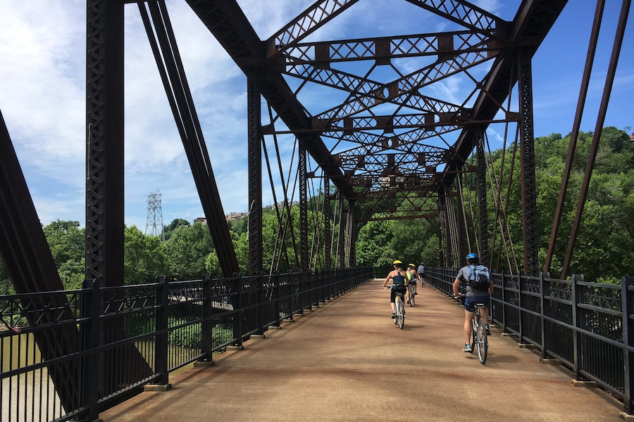 Three Rivers Heritage Trail in Pittsburgh | Photo by Ryan Cree