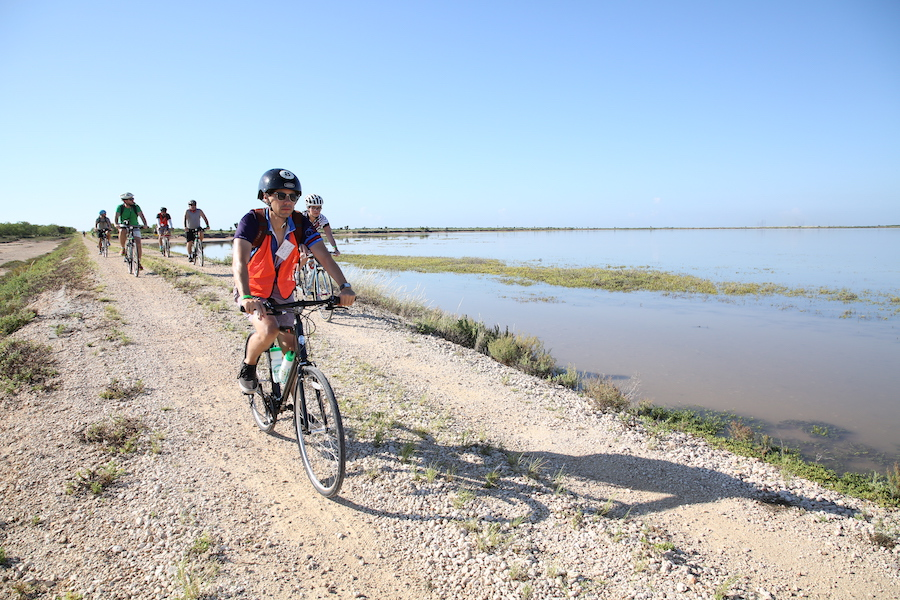 Biking tour of the Caracara Trails in Texas' Lower Rio Grande Valley | Photo by John Faulk, Frontera Media