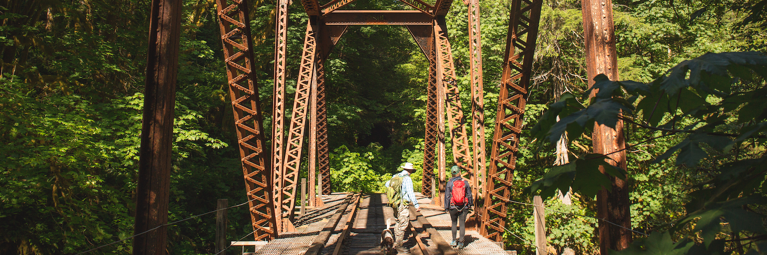 Salmonberry Trail corridor in Oregon | Photo by Connor Charles Photography
