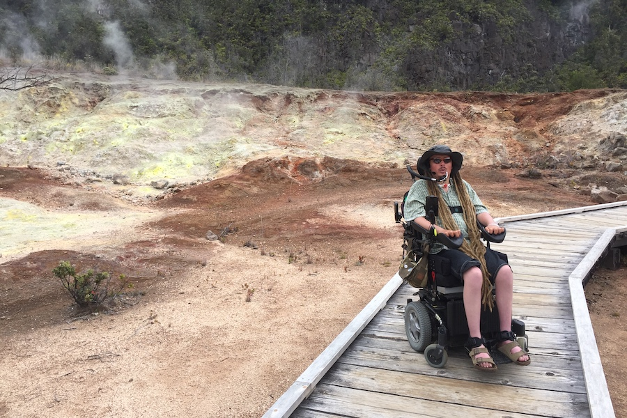 Ian Mackay has spent 1,000 consecutive days out on a trail as of July 2019. | Photo courtesy Ian Mackay