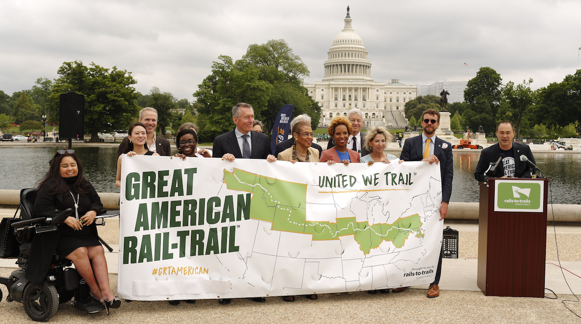 RTC's preferred route reveal celebration in Washington, DC | Photo courtesy RTC