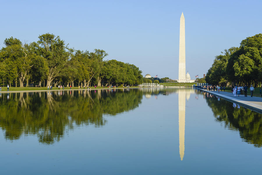 The National Mall in Washington, D.C. | Photo courtesy Rails-to-Trails Conservancy