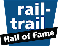 RTC Rail-Trail Hall of Fame logo