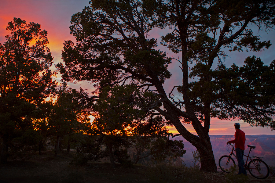 Sunset on the Grand Canyon Greenway Trail