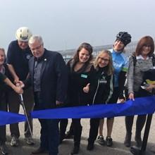 The grand opening of the Richmond-San Rafael Bridge bike and pedestrian path
