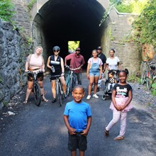 Kingston Point Rail Trail   Photo courtesy Kingston Land Trust
