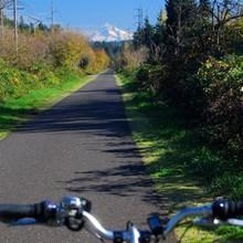Oregon's Springwater Corridor | Photo by TrailLink user dabiker