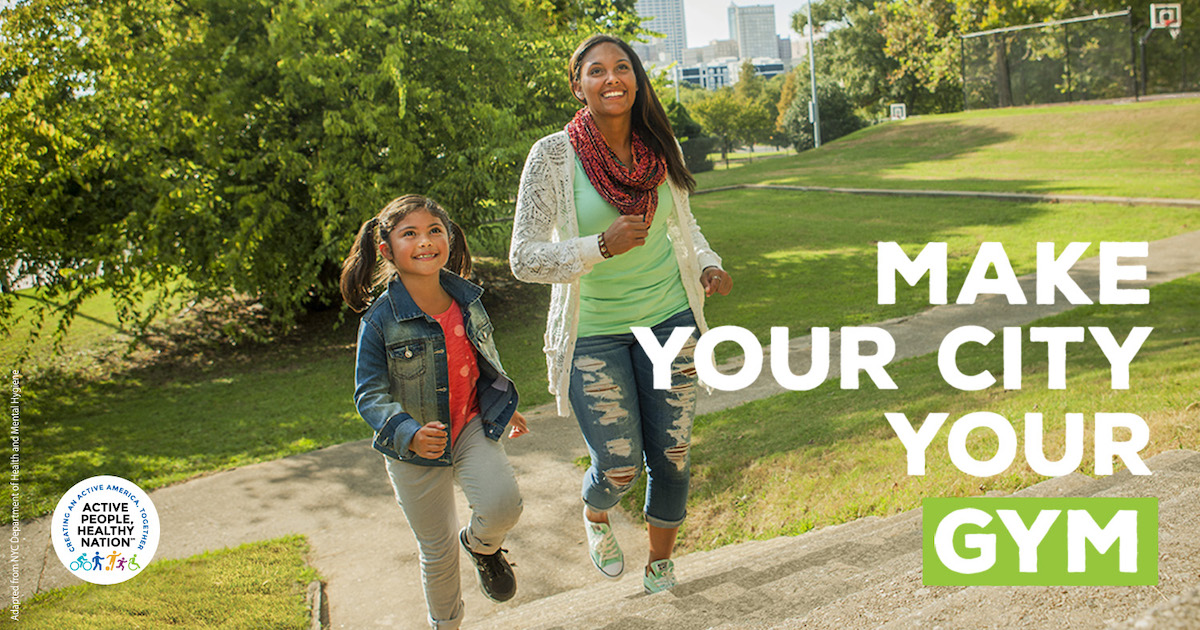 Mother and daughter walking outside - Courtesy of the Centers for Disease Control and Prevention (CDC)