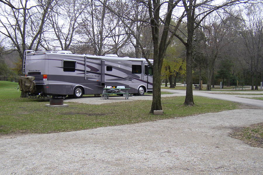 George Wyth State Park campground in Iowa | Courtesy Iowa Department of Natural Resources