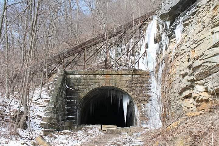 Brady Tunnel along Armstrong Trails in Pennsylvania | Photo courtesy Armstrong Trails