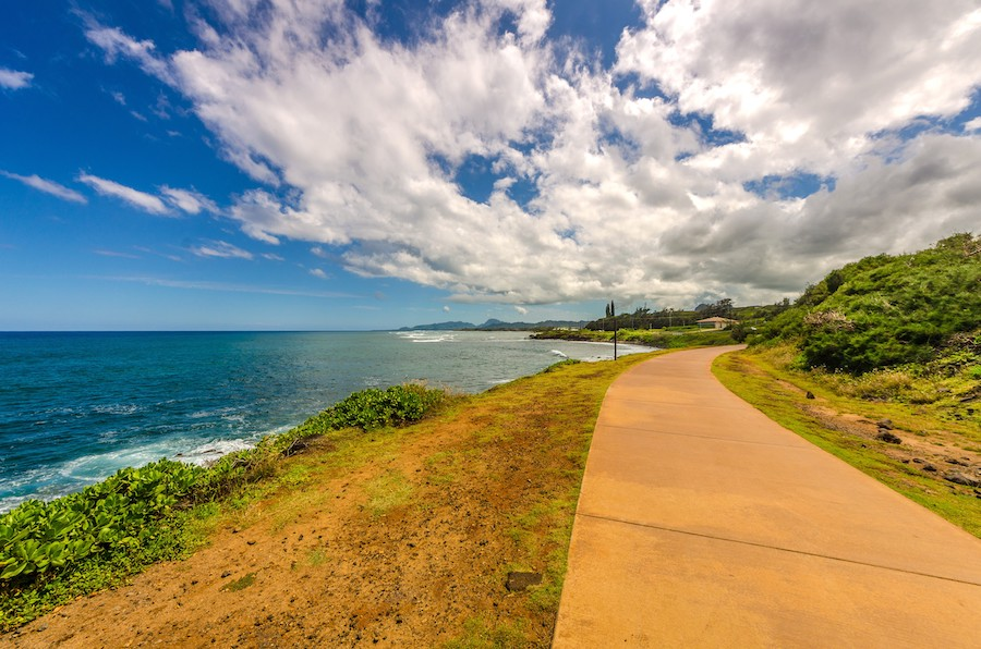 Ke Ala Hele Makalae follows the eastern coastline of the island of Kauai | Photo by Kevin Clark