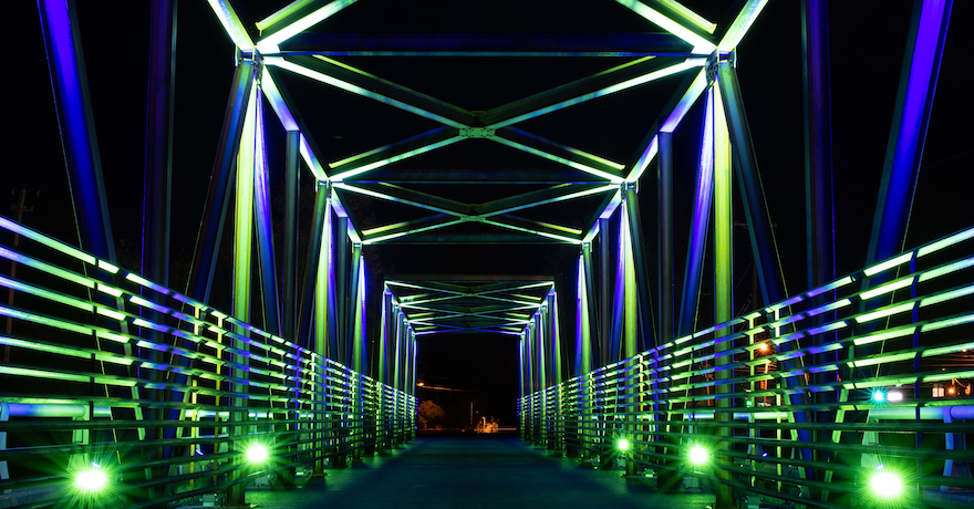 Thermal Belt Rail Trail bridge | Courtesy Jay S. Jackson Photography