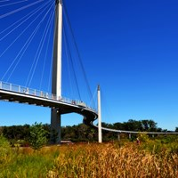 Nebraska and Iowa's Bob Kerrey Pedestrian Bridge