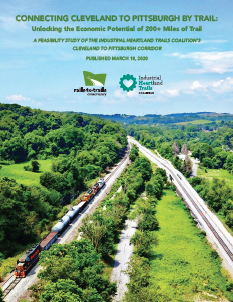 Connecting Cleveland to Pittsburgh by Trail: A Feasibility Study report cover