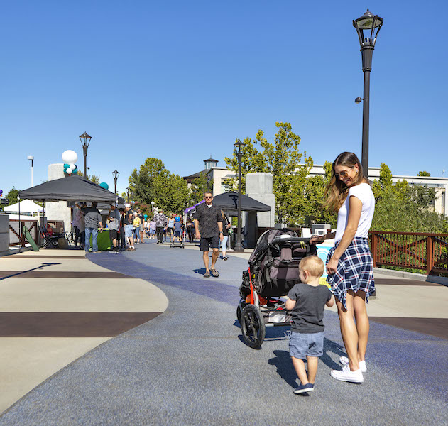 "The Roseville ""Celebrate Downtown"" event on Sept. 21, 2019, marking the grand opening of the Downtown Bridges and Trail Project. 
