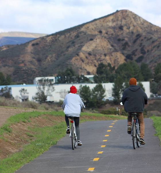 A casual ride along the new Arroyo Simi Bike Path in Simi Valley | Courtesy Rancho Simi Recreation and Park District