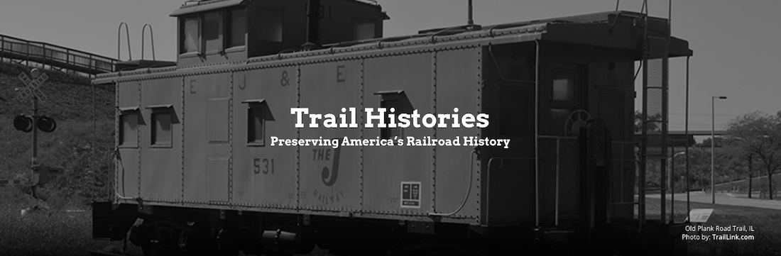 TrailLink Trail Histories featuring the Old Plank Road Trail in Illinois | Photo courtesy TrailLink.com
