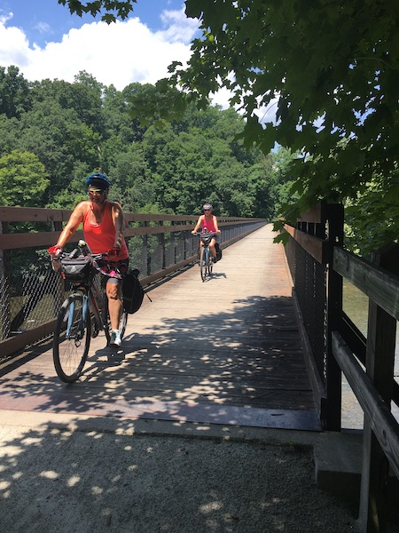 Great Allegheny Passage (gaptrail.org) in Southwestern Pennsylvania and Western Maryland | Courtesy Allegheny Trail Alliance